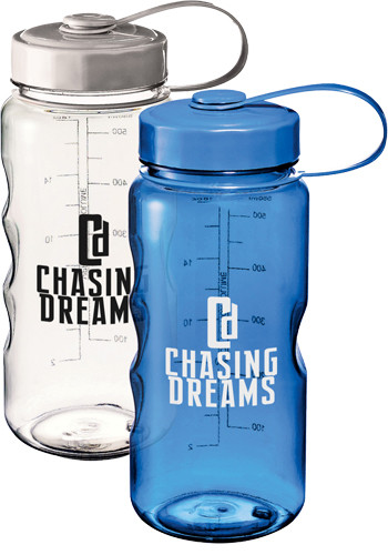 Customized 18 oz. Excursion Plastic Water Bottles