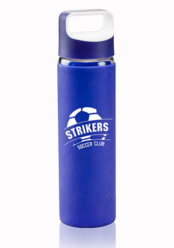 Glass Water Bottles with Silicone Sleeves
