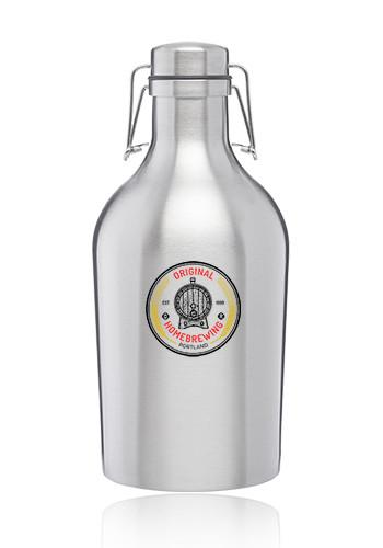 2 Liter Dublin Stainless Steel Growlers | BM36