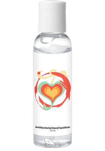 2 Oz. Hand Sanitizer In Clear Bottles