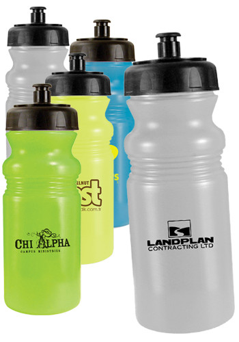 20 oz. Sun Fun Cycle Bottles with Push Top | AK67220