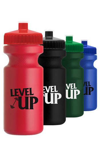 22 oz. Eco-Cyclist Plastic Water Bottles | GRWB21R