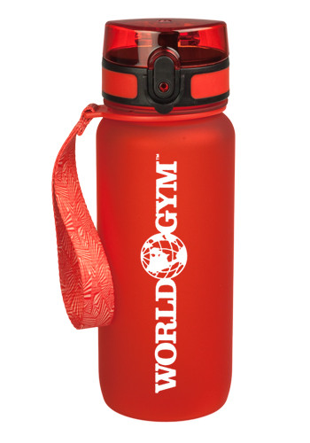 22 oz. Rubber Coated Plastic Water Bottles | WB82