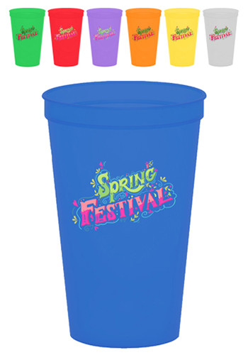 Personalized Plastic Cups Custom Plastic Stadium Cups