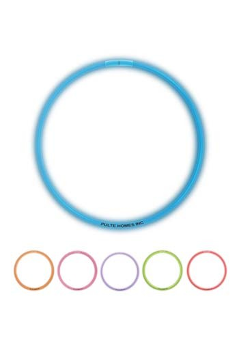 22 in. Superior Single Color Light Up Glow Necklaces | WCGNS60