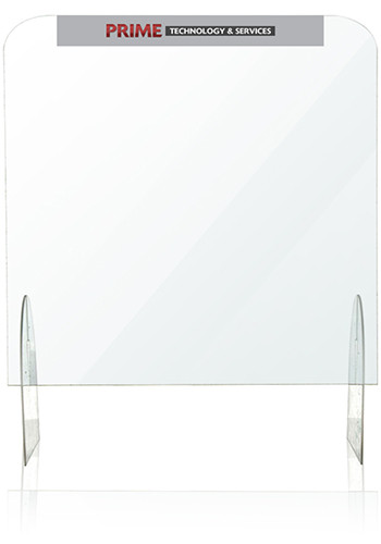 Customized 24 In x 24 In Protective Acrylic Counter Barriers