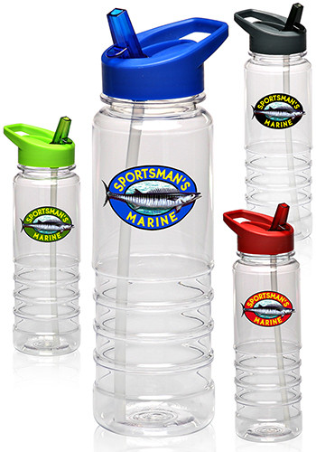 personalized 24 oz plastic water bottles pg117 discountmugs