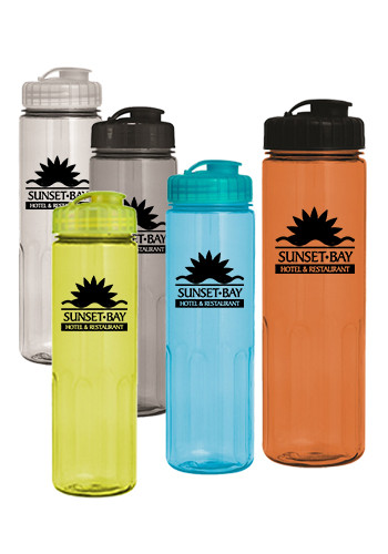 24 oz. Prestige Bottle with Flip Top Lid | CPS0394