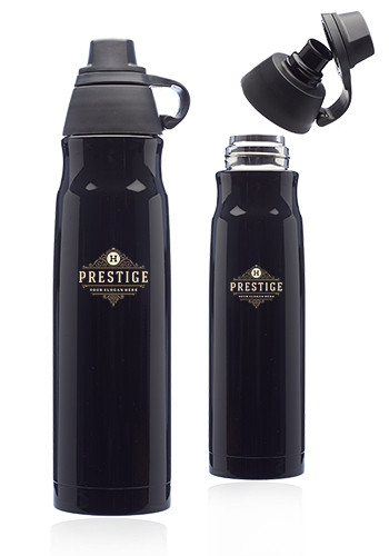 Bulk 25 oz. Giza Stainless Steel Water Bottles with Plastic Lids