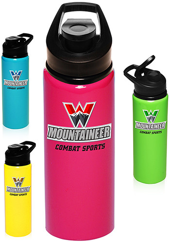 Aluminum Sports Bottle with Lid