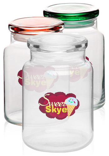 26 oz. ARC Flat Lid Colonial Candy Jars | 64845FL