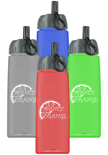 Personalized 26 oz. Discount Tritan™ Flair Sports Bottles