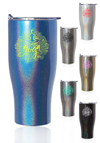 27 oz. Iridescent Stainless Steel Travel Mugs | TM324I