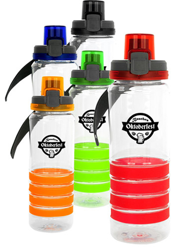 28 oz. Locking Lid Sporty Ring Bottles | ASCPP4530
