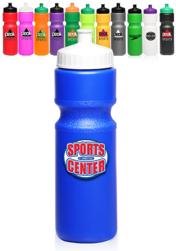 Push Cap Plastic Water Bottles
