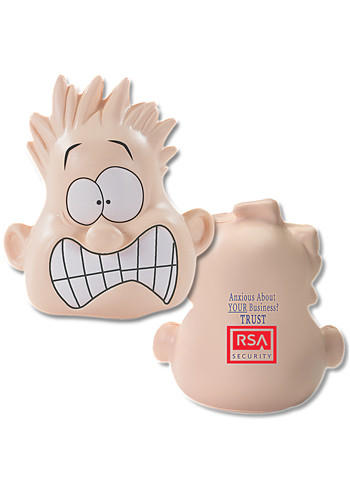 Shocked Mood Dude Stress Balls | PL0414