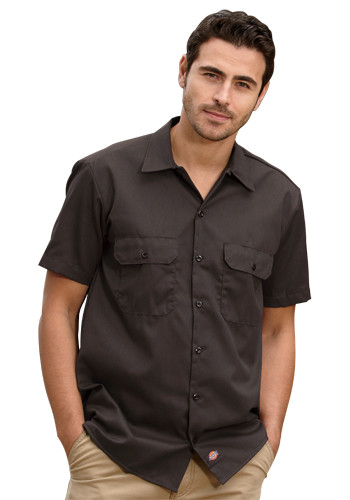 1fbfc593 Custom Dickies Men's Short-Sleeve Work Shirts | 1574 - DiscountMugs