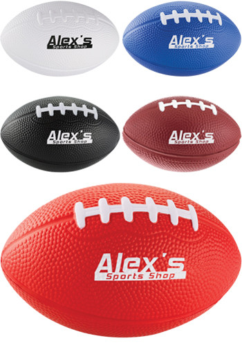 Custom 3.50 Inch Football Stress Relievers