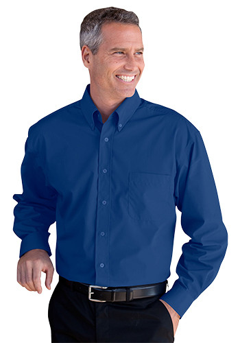 Men's Blended Poplin Shirts | 1100