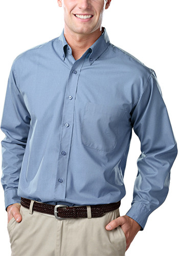 Blue Generation Long Sleeve Poplin Dress Shirts | BGEN7210
