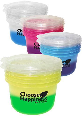 3 Piece Round Reusable Moodware Containers | AK70215