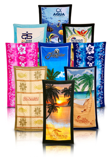 Wholesale Terry Beach Theme Towels