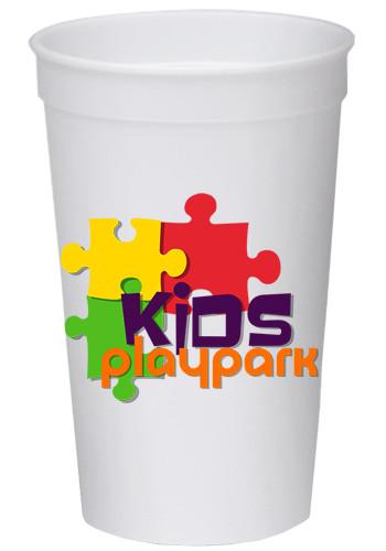 32 oz Full Color Wrap Stadium Cups | SCF32
