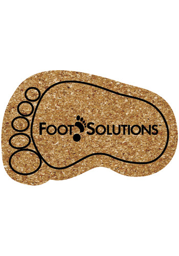 6.25 inch King Size Cork Foot Coasters | AM5XFO
