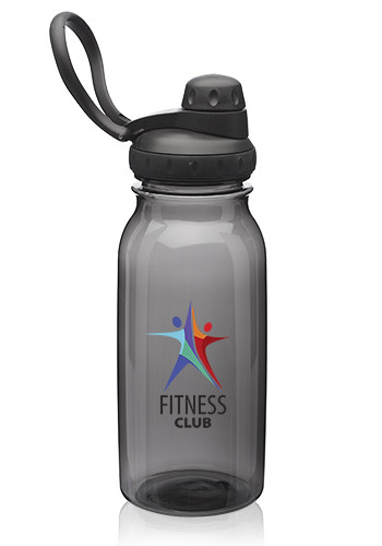 33 oz. Plastic Sports Water Bottles with Spout Lid   WB344