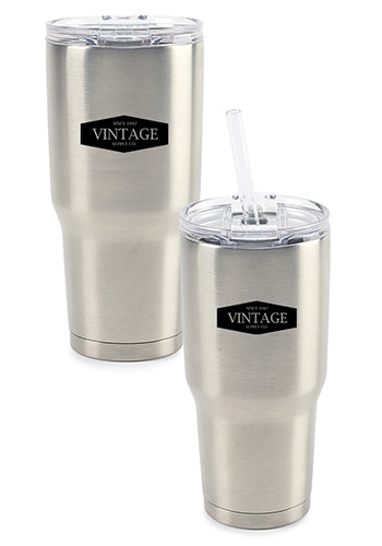 34 oz Aviana Midas XL Double Wall Stainless Tumblers | GL15005