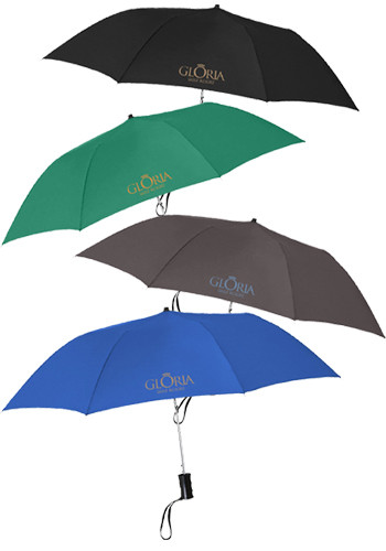 36-in. Telescopic Automatic Folding Umbrellas | X10022