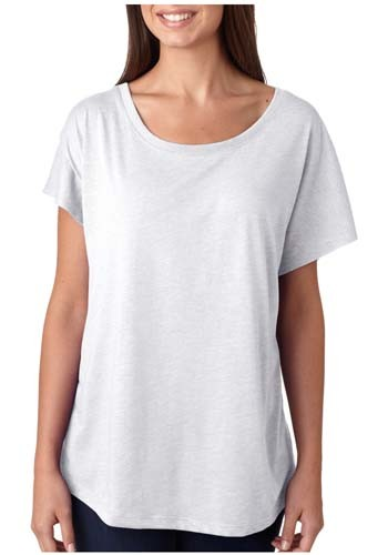 Next Level Ladies Tri-Blend Dolman Tees | NL6760