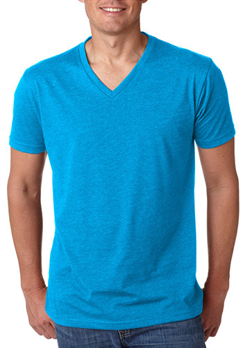 Next Level Mens CVC V-Neck T-shirts | NL6240