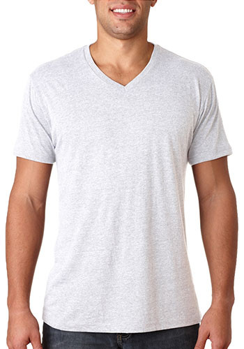 Next Level Mens Tri Blend V-Neck Tee Shirts | NL6040