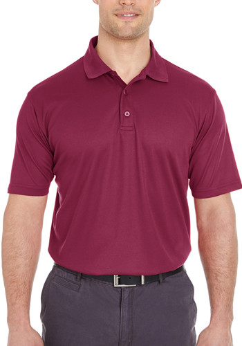UltraClub Men's Cool & Dry Mesh Piqué Polo Shirts | 8210