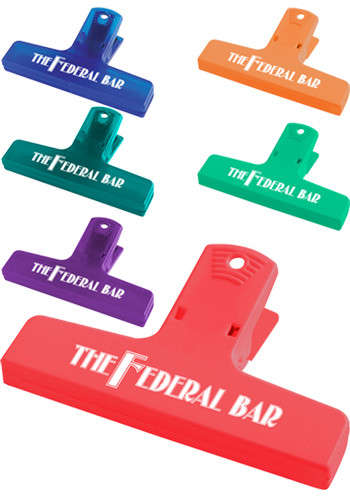 Personalized 4 in. Keep-It Clips
