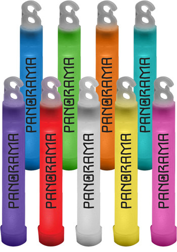 Personalized 4 in. Premium Plastic Glow Sticks