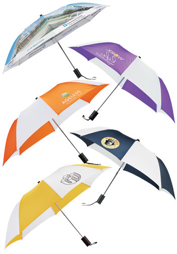 Personalized 42-in. Auto Folding Umbrella