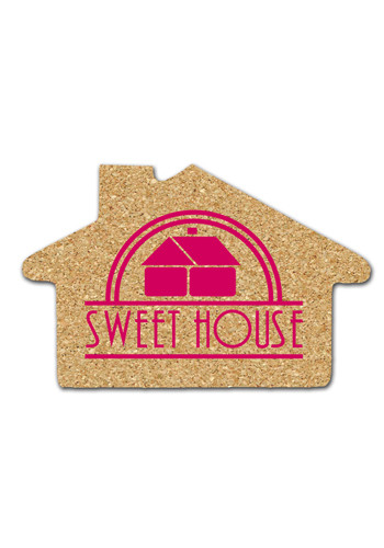 Wholesale 5.375 inch Cork House Coasters