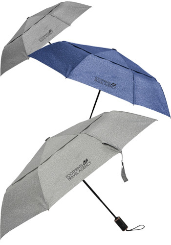 46 Inch Cutter and Buck Auto Open-Close Vented Umbrellas | LE205084