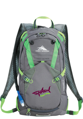 Personalized High Sierra Piranha 10L Hydration Packs