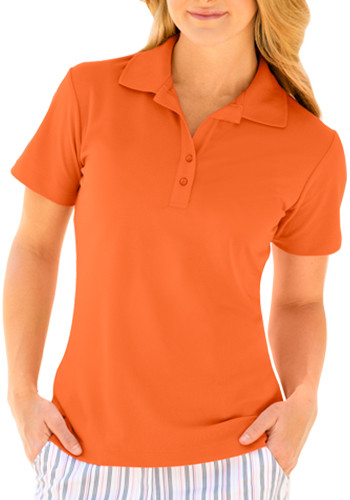 Women's Play Dry Performance Mesh Polo Shirts | WNS3K445