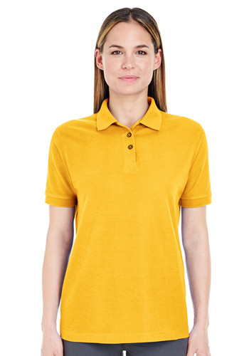 UltraClub Ladies' Whisper Piqué Polo Shirts | 8541