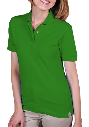 Blue Generation Ladies Polo Shirts without Pocket | BGEN6203
