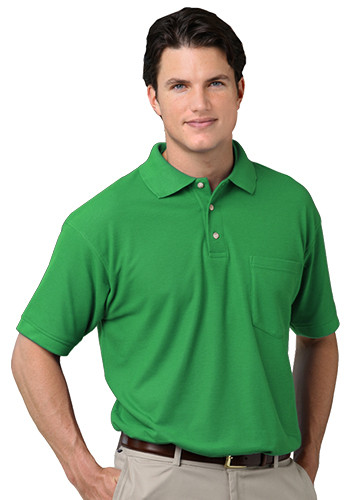 Blue Generation Men's Polo Shirts with Pockets | BGEN7202
