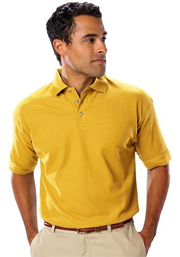 Blue Generation Men's Teflon Treated Polo Shirts w/o Pocket | BGEN7203