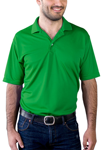 Blue Generation Men's Moisture Wicking Polo Shirts | BGEN7219