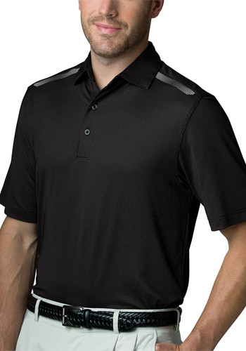 Greg Norman Men's Aerated Weatherknit Polo Shirts | GNS5K498