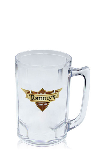 Clear Plastic Beer Mugs