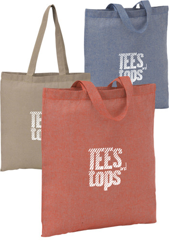 Recycled Cotton Twill Totes | SM5830